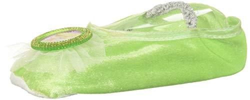 Disney Tinker Bell Girls' Ballet Slippers, One Size