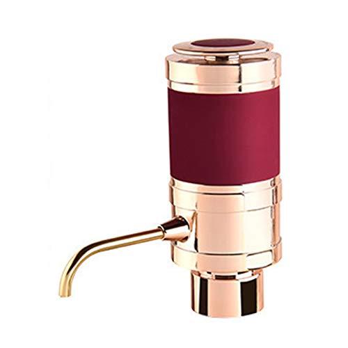 BTTNW Vertedor De Vino Electrónico Aeroador de Vino eléctrico y vertido/Decantador de Aire dispensador - Toque de Vino Personal para Vino Rojo y Blanco Adecuado para Cenas Familiares
