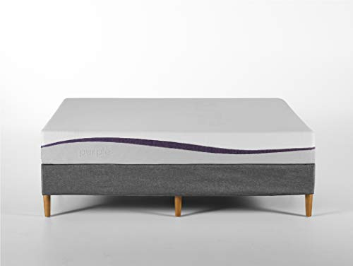 Purple Queen Mattress | Hyper-Elastic Polymer Bed Supports Your Back...