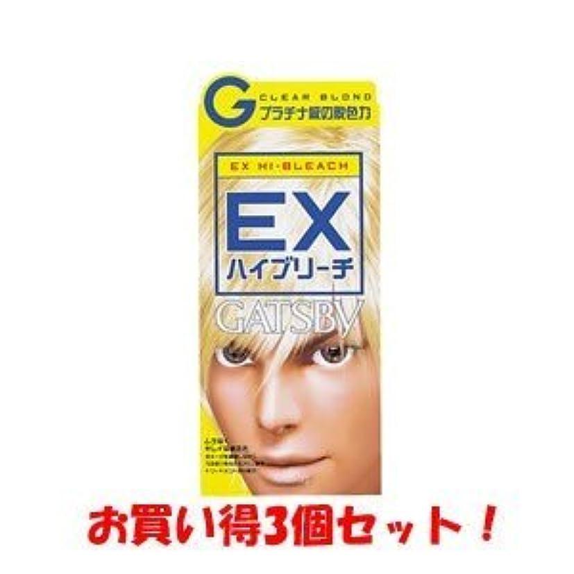 氷やろう動物ギャツビー【GATSBY】EXハイブリーチ(医薬部外品)(お買い得3個セット)