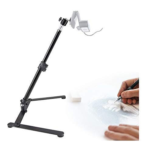 Adjustable Webcam Mount,Overhead Webcam Stand Compatible with Logitech C920 C922x C930e C922 C930 C615 C925, Brio 4K - Acetaken