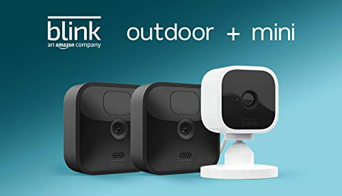 All-new Blink Outdoor – 2 camera kit with Blink Mini