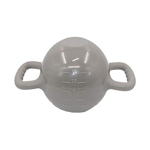 Equipo de entrenamiento SHPING Kettlebells, Pesas Ajustables, Pesas De Yoga para Niñas, Equipo De Ejercicios para El Hogar, Ejercicios con Pesas, Pesas Portátiles (Color : Gray)