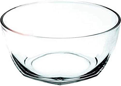 IBILI 480324 Saladier, INOX, Transparent, 24 x 24 x 11 cm