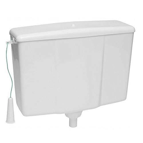 WC Spülkasten hochhängend hochhängender 9 Liter 445 x 340 x 150 mm
