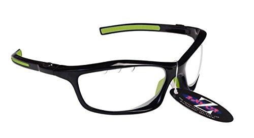 RayZor Lunettes de soleil légères et incassables pour homme et femme Protection des yeux UV400 Verres professionnels pour tir à l'arc, pêche, voile, randonnée, chasse