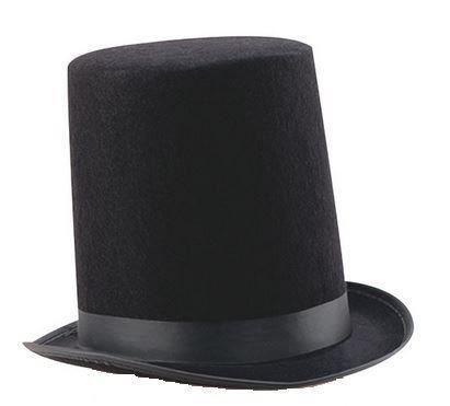 I LOVE FANCY DRESS LTD Zylinder Hut = HOHER Lincoln Stovepipe Hut=Renaissance VERKLEIDUNG KOSTÜM =Fasching Karneval AUFFÜHRUNGEN =Durchmesser VON 55cm = 1-Zylinder