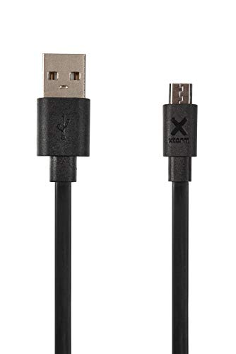 Xtorm Flat USB to Micro USB cable (1m) Black