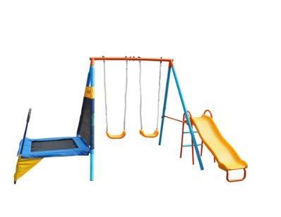 Sportspower Rosemead Metal Swing and Slide...
