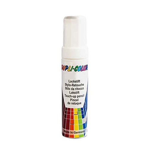 Dupli-Color 598395 Lackstift Auto-Color DS 0-0500 schwarz matt 12ml, Black