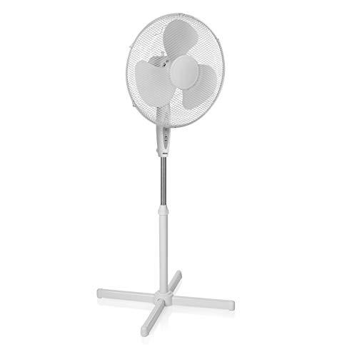 Tristar VE-5898 Staande ventilator, 40 cm, afstandsbediening, timer, wit