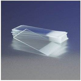 Corning 2949-75X25 Microscope Slide, Frosted Two Sides, One End 75 mm x 25 mm Size