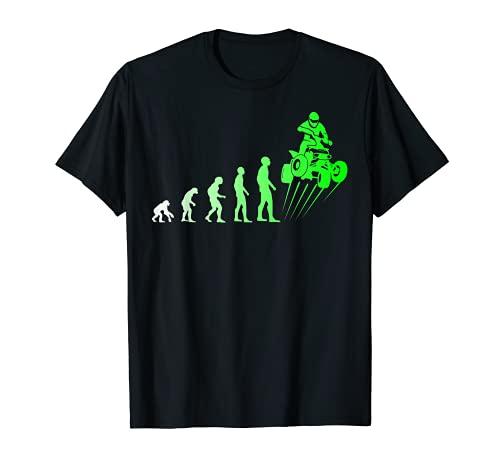 Quad Fahrer Offroad Geländefahrzeug Evolution Geschenk T-Shirt