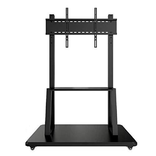 Soporte de Suelo para TV para Sala de Estar TV Monte Stand Still Altura Ajustable y Administración de cables Black Universal Floor TV Stand con 2 estantes para 40-100 pulgadas ( Color : Black )