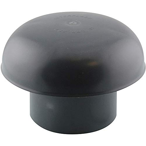 Chapeau de ventilation Ø 80 mm Ardoise avec Moustiquaire