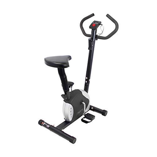 Esprit Fitness XLR-8 Exercise Bike Adjustable Resistance Cardio Workout (Black)