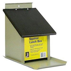 Zenport Squirrel Lunch Box Z38079 Hopper Bird...