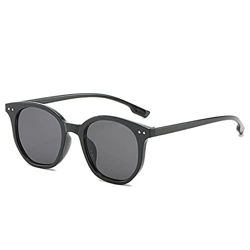 YTYASO Gafas de Sol Redondas de Moda para Hombres y Mujeres, Gafas de Sol Coloridas para Hombre y Mujer, Gafas UV400