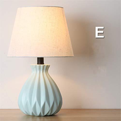 Moderner unbedeutender kreativer Wohnzimmerschlafzimmer-Nachttisch der keramischen Tischlampe