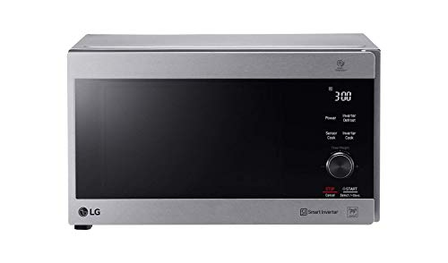 LG MH8265CIS NeoChef Smart Inverter Microwave Oven w/Grill, 220V (Not for USA), 42-Liter, Silver