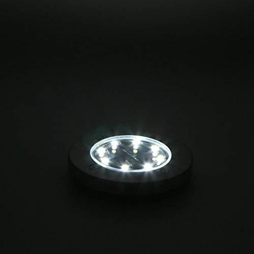 Luces solares 4PCS Solar LED Luz de tierra Camino impermeable al aire libre de la lámpara LED del césped Camino de iluminación de ahorro de energía Luz solar del jardín Yard Luces al aire libre