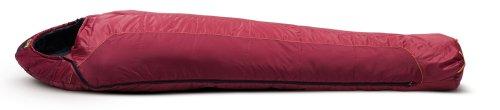 SALEWA Synthetikschlafsack Sigma Micro 600 Sb, red/burgundy/grey, Right, 00-0000004509