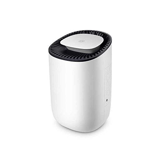 HAJZF Deshumidificador Inteligente botón táctil Auto-Apagado de Aire de Poco Ruido deshumidificador purificadores de Aire Humedad deshumidificación,EU