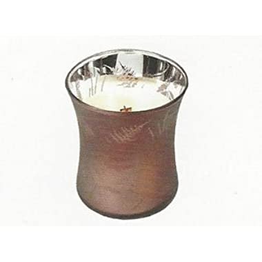 WoodWick Fireside Dancing Glass Candle, Medium 9 oz