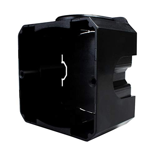LIVOLO EU-80-WSMB - Interruptor de luz táctil (cristal, 5 cajitas empotradas), color...