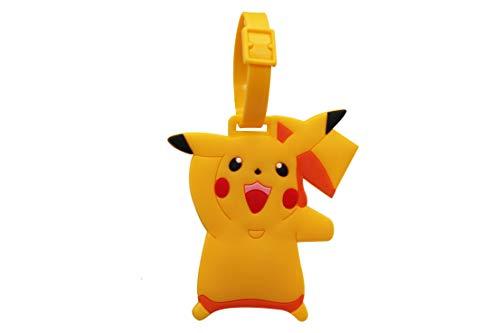 Pokemon Étiquette de bagage Jinchun 1Set Silicone Mignon Pikachu Sac à dos Noms pour Garçons