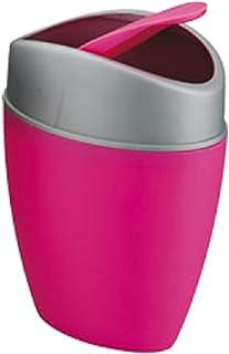 HRIM ENTERPRISE Portable Durable Universal Traveling Multipurpose Mini Trash Bin Dustbin for Home Tabletop Desktop Office ...