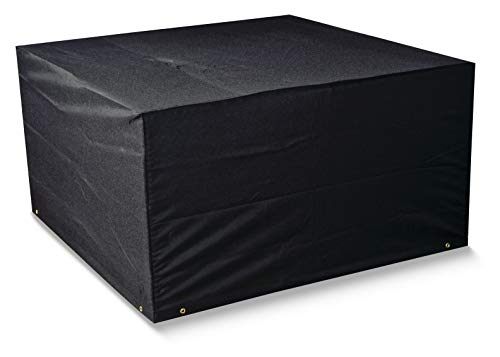 Bosmere Protector 6000 Modular 6 Seat Rectangular Cube Set Cover - Black, M660