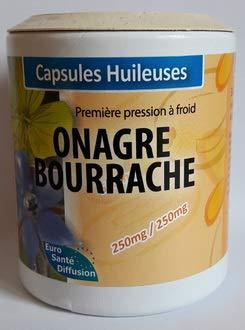 ONAGRE BOURRACHE BIO 100 caps Euro Santé Diffusion