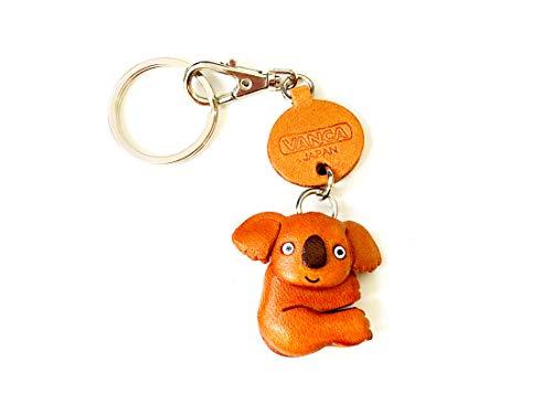 Preisvergleich Produktbild Vanca Craft Schlüsselanhänger,  Koala-Leder,  klein,  hergestellt in Japan