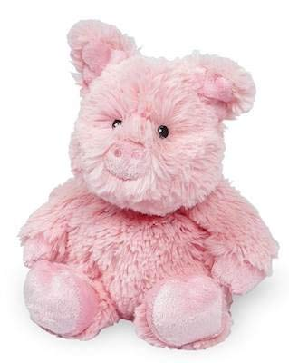 PIG JUNIOR WARMIES Cozy Plush Heatable Lavender Scented Stuffed Animal