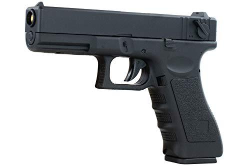 Softair G18 Pistole CYMA CM030 AEP Airsoft Set inkl. Akku, Ladegerät & Speedloader Vollautomatisch & Semi Kaliber 6mm BB<0,5J