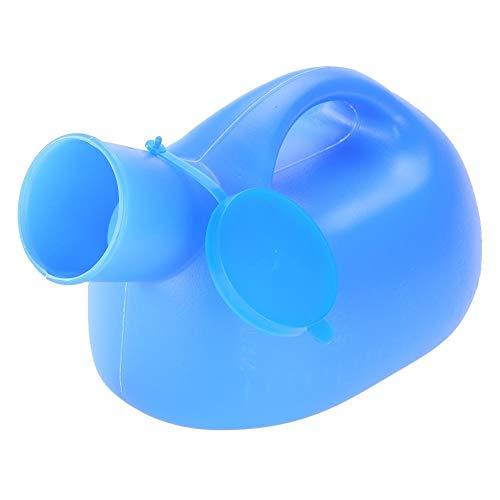 Orinal portátil para hombres con engrosamiento de la tapa Olla de cámara para niños de edad avanzada (2000 ml) ✅