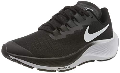 Nike Air Zoom Pegasus 37 (GS), Scarpe da Corsa, Black/White, 37.5 EU