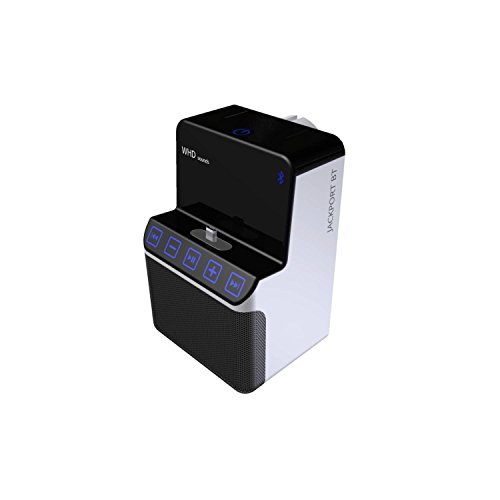 WHD Jackport BT Bluetooth® Lautsprecher Freisprechfunktion, NFC Schwarz