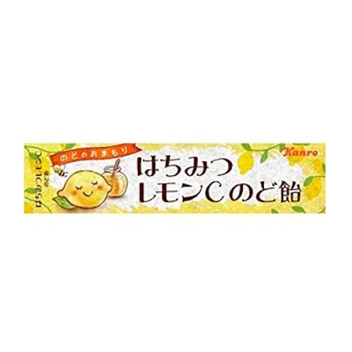 カンロ はちみつレモンCのど飴【10個セット】