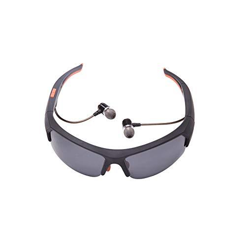 Adesign Gafas de Sol de Bluetooth, música Gafas de Sol Auriculares compatibles for Escuchar música y Realizar Llamadas de teléfono con Lentes polarizadas de Seguridad Protección