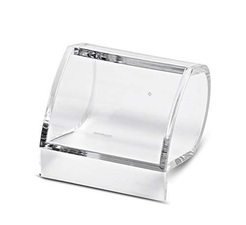 Maul Klammernspender Acryl, 85 x 77 x 64 mm, Glasklar, 1 Stück