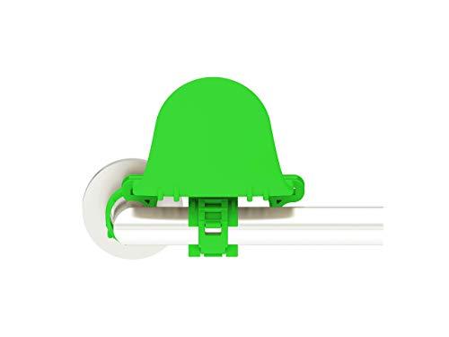 Hygieneklinke | Hygienischer Türöffner | Hygienischer Türhebel | Türgriff | Türhebel | Unterarm-Türöffner | Ellbogen-Türöffner | Kompatibel mit vielen Türklinken | Farbe Grün
