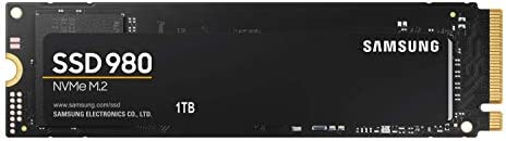 Samsung 980 1 TB PCIe 3.0 (tot 3.500 MB/s) NVMe M.2 interne Solid State Drive (SSD) (MZ-V8V1T0BW)