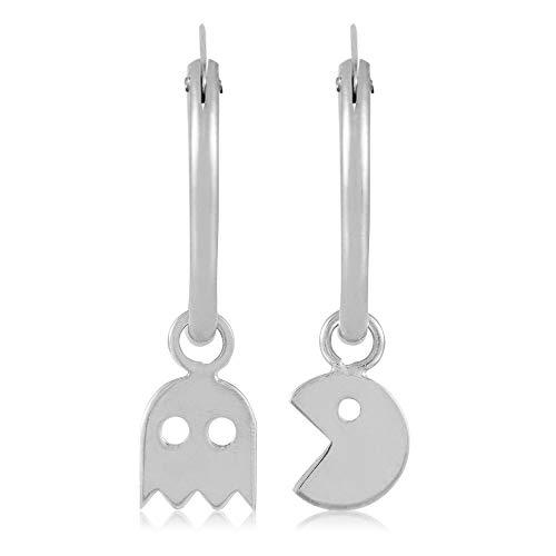Córdoba Jewels | Aros en plata de ley 925 diseño Aro Comecocos Silver