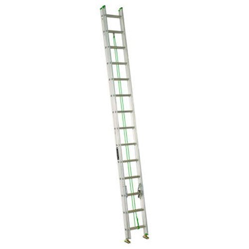 Louisville Ladder AE4224PG Extension Ladder, 24 Feet