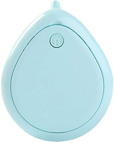 hwljxn Aspirador de Mano, Mini aspiradora, Dos Modos para la eliminación de caspa fácil, succión Fuerte, Cepillo de Nylon de Alta tenacidad, Adecuado para el hogar (Color : Blue)