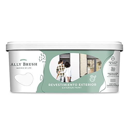 Ally Brush - Pintura exterior fachadas 3L y 10L (Blanca y colores)