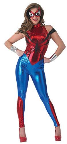 Rubie' s Costume da donna ufficiale Marvel Spider-Girl Catsuit, adulto–Taglia M 12–14