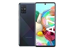 Samsung Galaxy A71 (16.95cm (6.7 Zoll) 128 GB interner Speicher, 6 GB RAM, Dual SIM, Android, prism crush Schwarz) Deutsche Version